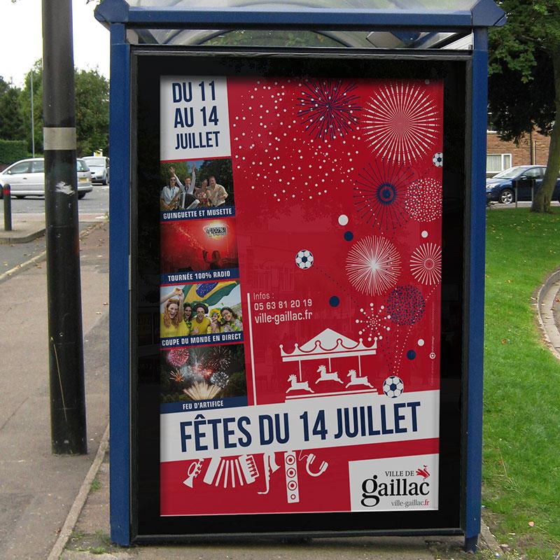 Affiche Mairie de Gaillac