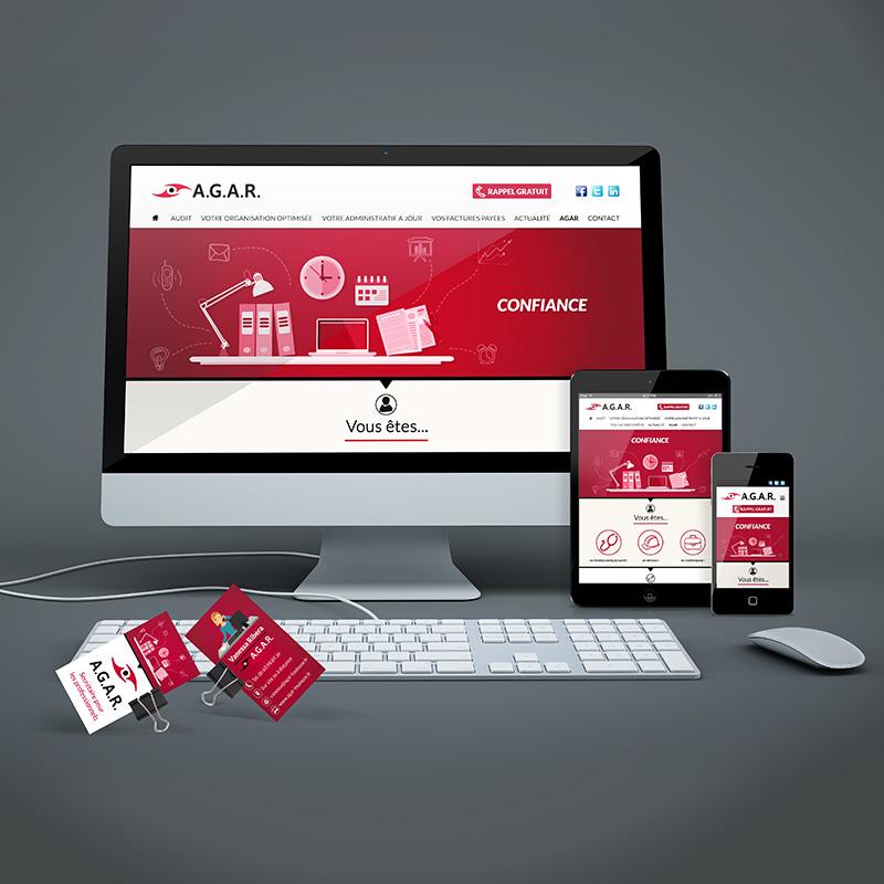 Charte graphique site internet AGAR